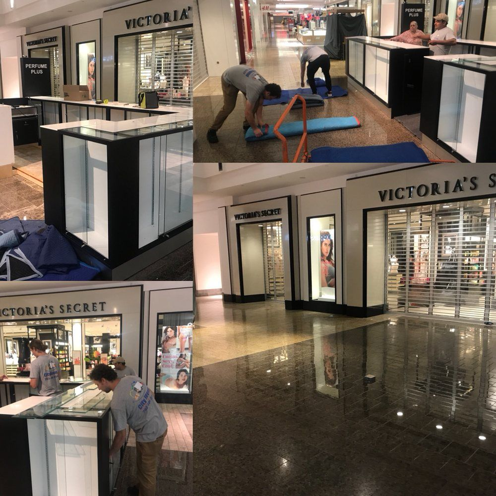 Disassembly and Move of a Mall Boutique to a storage