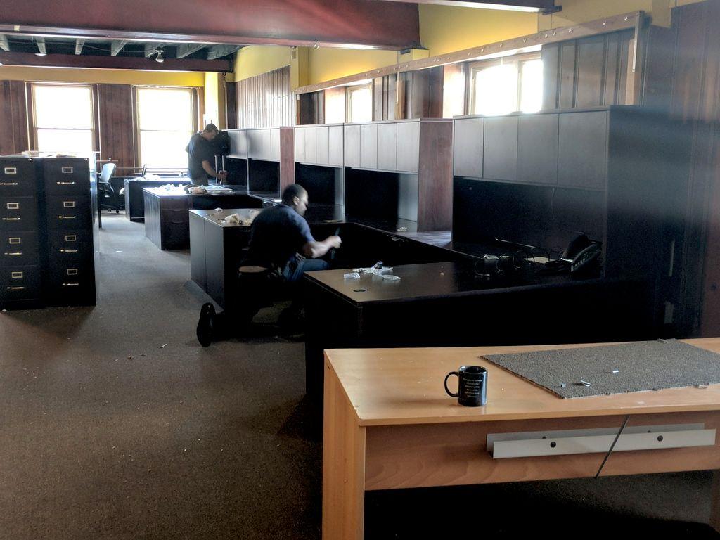 New Office Setup