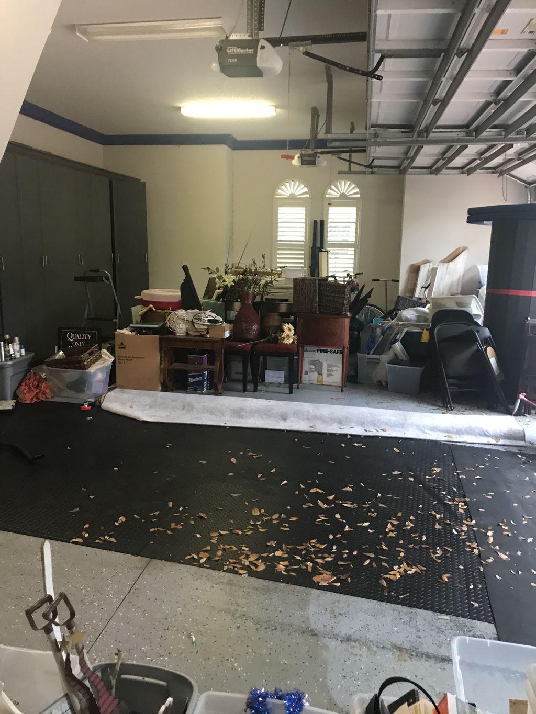 Garage Organizing & disposal of unwanted items
