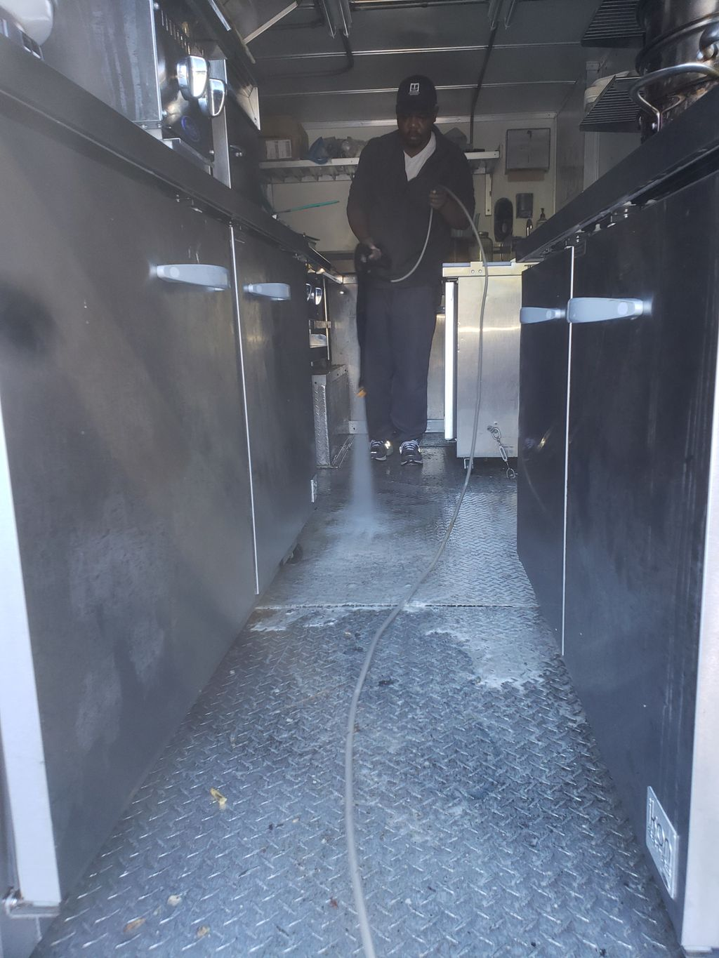 Food truck cleaning