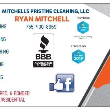 Avatar for Mitchell's Pristine Cleaning Services, LLC