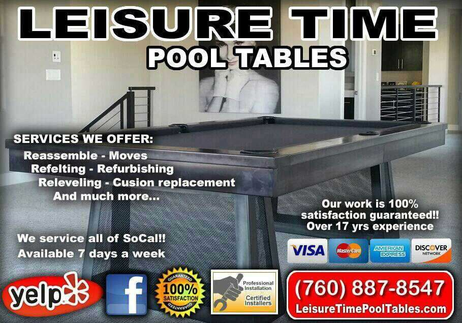 Leisuretime Pool Tables