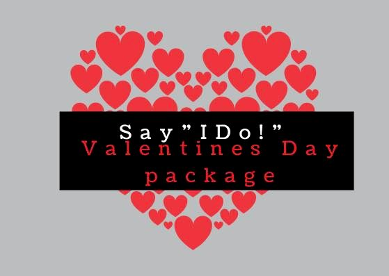 Valentines Ceremony Package