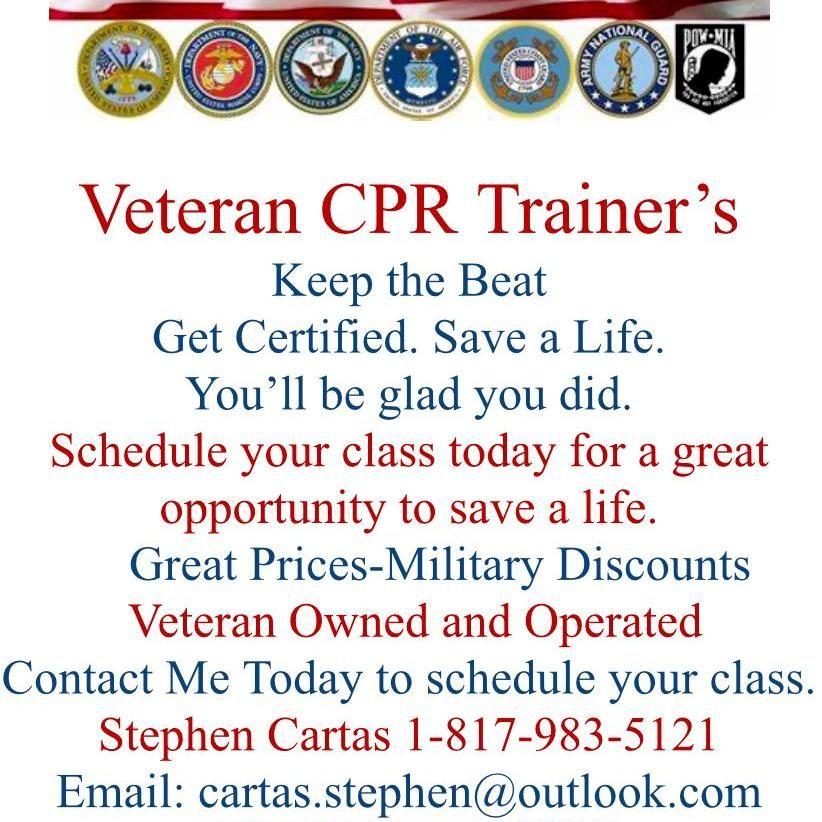 Veteran CPR Trainers