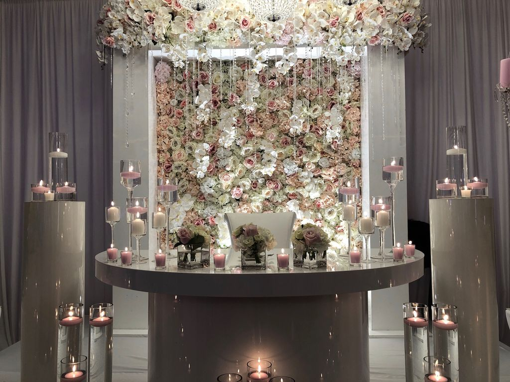 Event Decor - Pinks & Whites