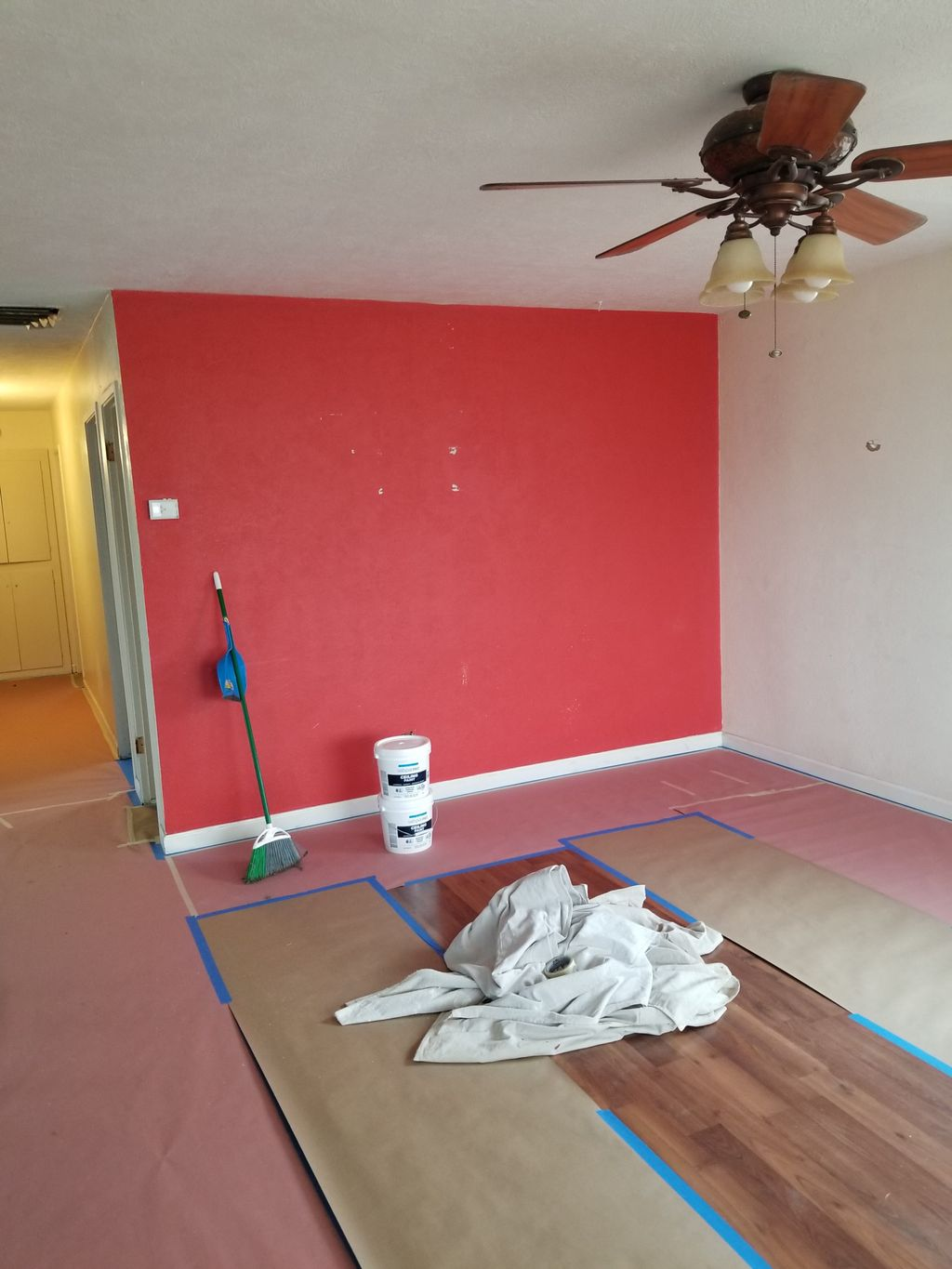 Drywall, texture, And complete Interior Paint Job