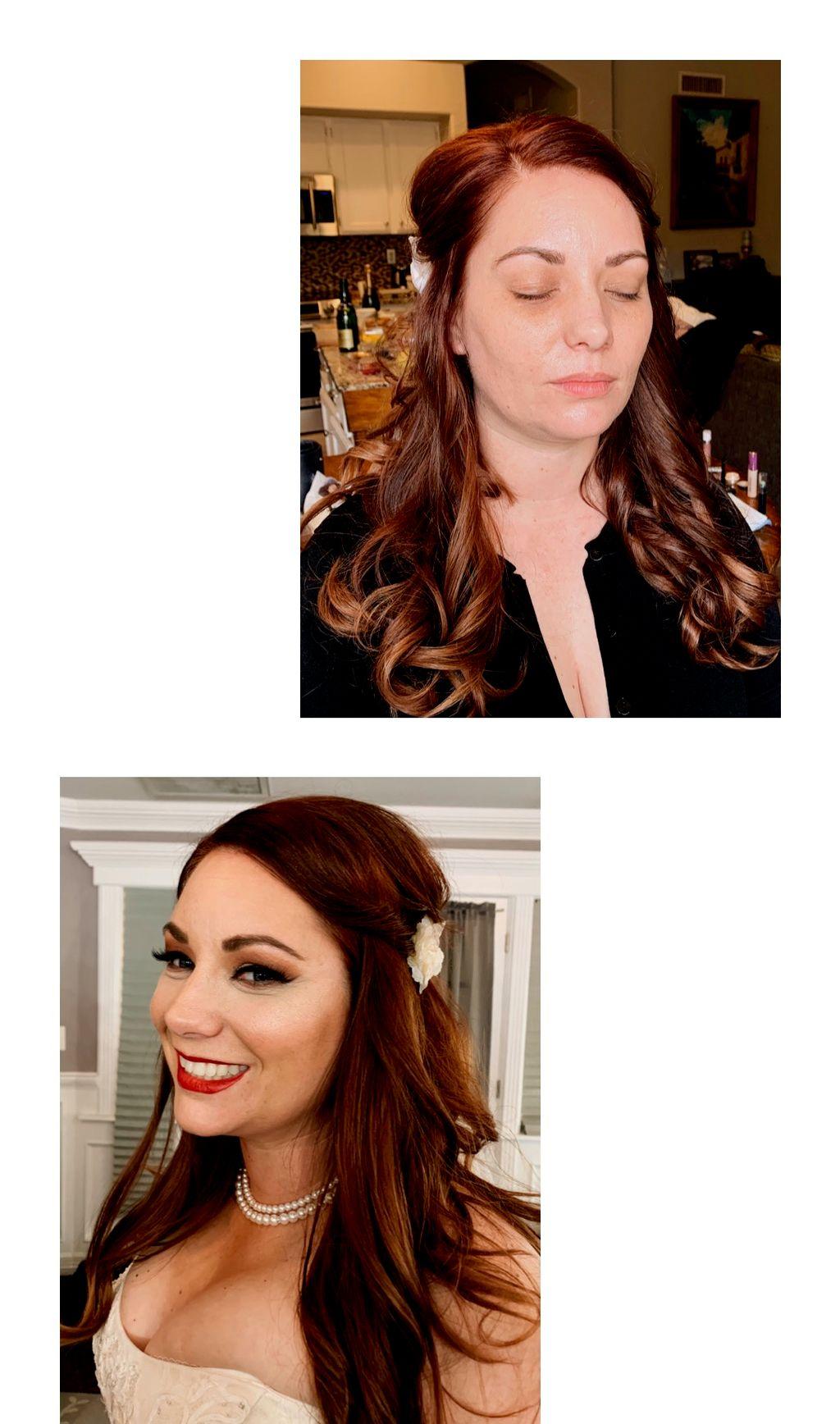 Bridal makeup, Soft Glam