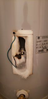 Water Heater Lower Thermostat  Repair