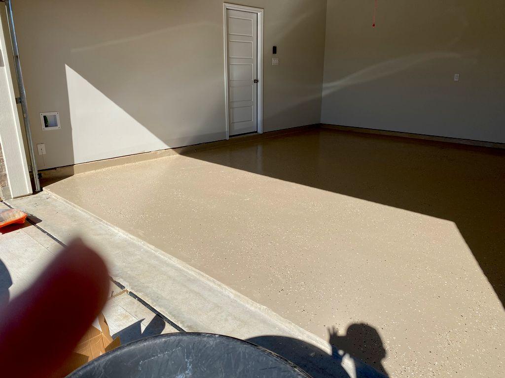 Floor Coating with epoxy
