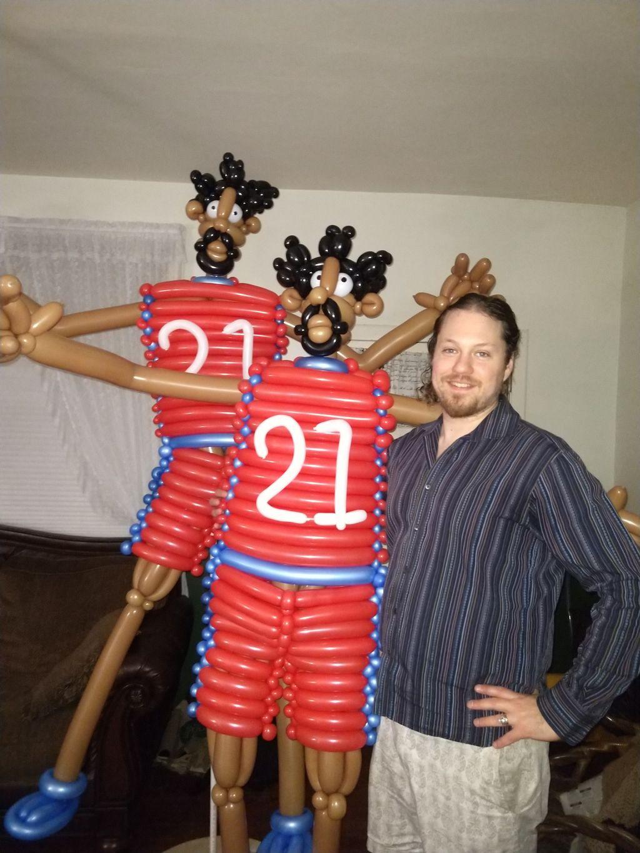Joel Embiid's Birthday Party