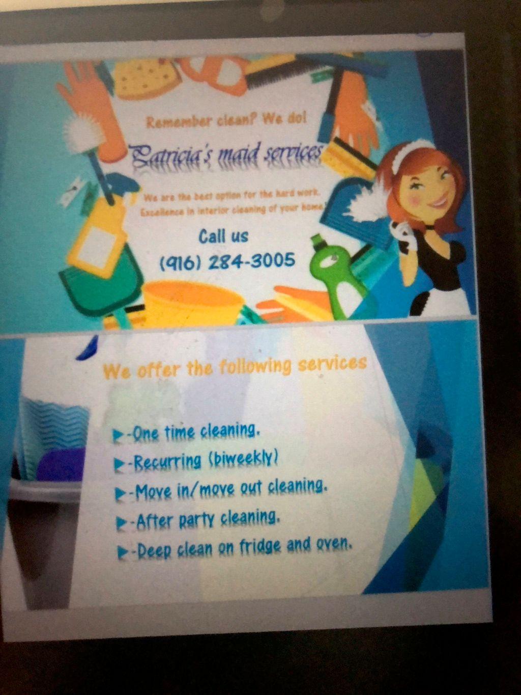 Patricia's maid services