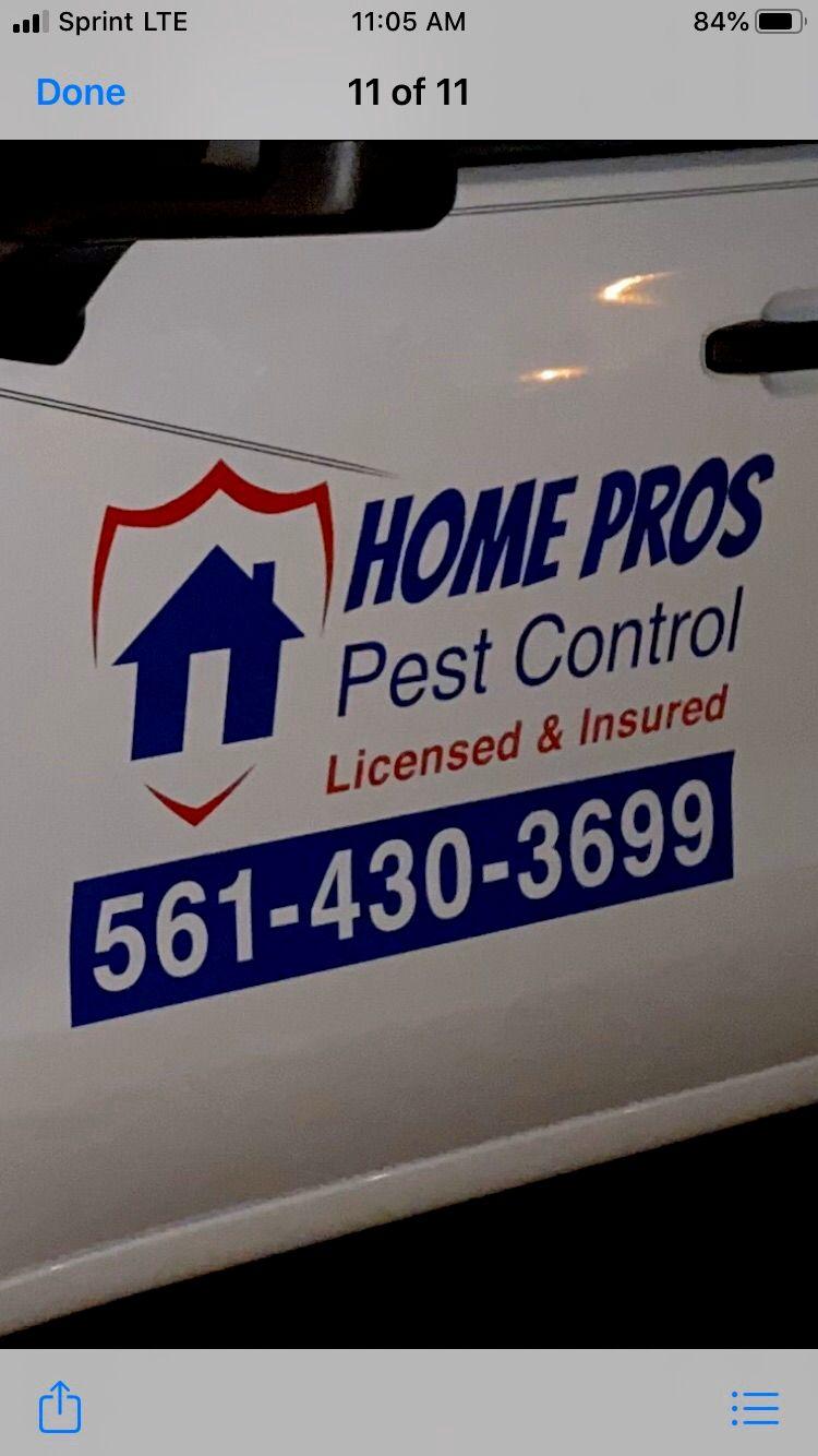 Home Pros Pest Control