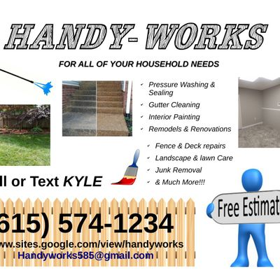 Avatar for Handy-Works Hendersonville, TN Thumbtack