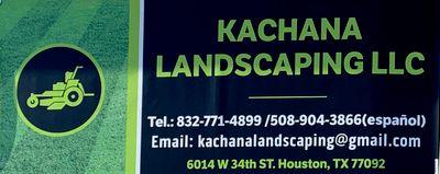 Avatar for Kachana Landscaping Houston, TX Thumbtack