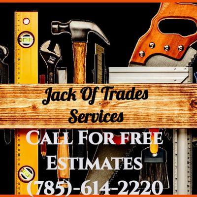 Avatar for Jack Of Trades Services Inc Salina, KS Thumbtack