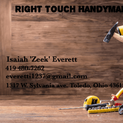 Avatar for Right Touch Handyman Services LLc