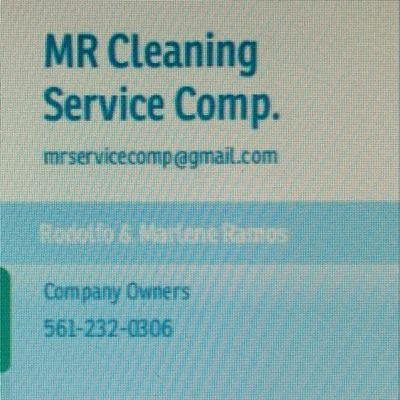Avatar for M.R CLEANING SERVICE COMP.