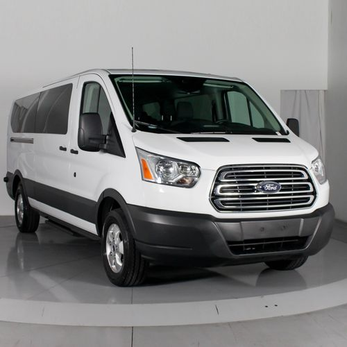 Newest vehicle to our fleet. 2018 Ford Transit 350 12-passenger van.