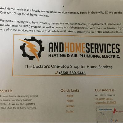 Avatar for AND Home Services Greenville, SC Thumbtack
