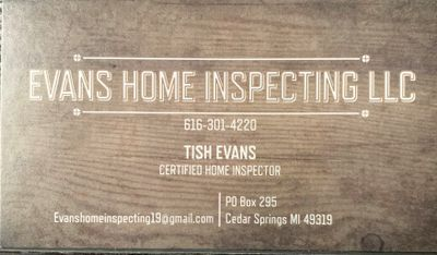 Avatar for Evans Home Inspections LLC Grand Rapids, MI Thumbtack
