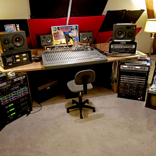 Studio B / Retro Sound on the third floor