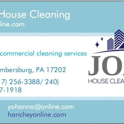 Avatar for Joah Houses Cleaning Chambersburg, PA Thumbtack