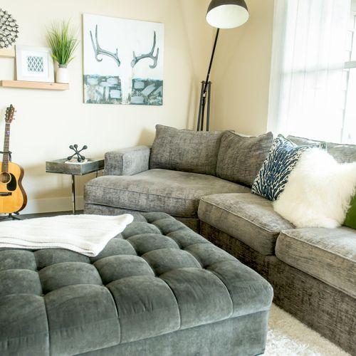Stylish apartment living