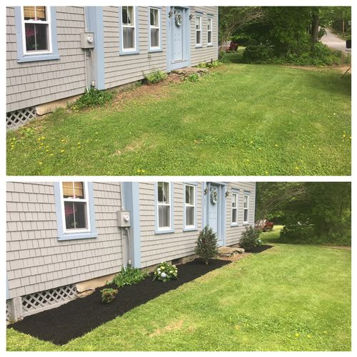 Curb appeal added