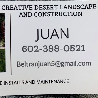 Avatar for Creative desert maintenance and construction Tempe, AZ Thumbtack