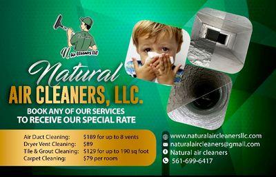 Avatar for Natural Air Cleaners LLC Fort Lauderdale, FL Thumbtack