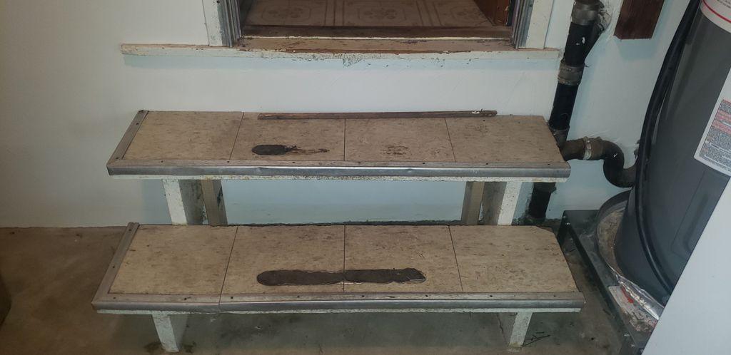 Custom steps installed