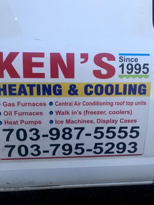 Avatar for ken's Heating and Cooling Manassas, VA Thumbtack