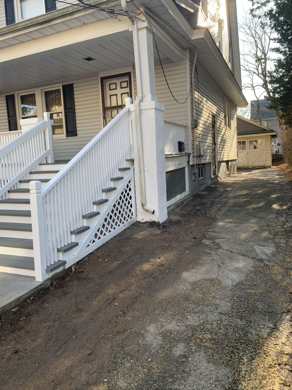 Paint deck And new step