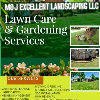 Avatar for M&J Excellent Landscaping LlC Baltimore, MD Thumbtack