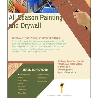 Avatar for All Season Painting & Drywall Littleton, CO Thumbtack