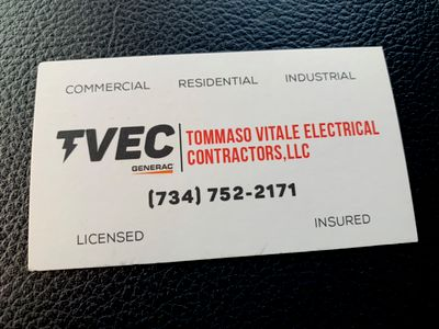 Avatar for TOMMASO VITALE ELECTRICAL CONTRACTORS LLC Taylor, MI Thumbtack