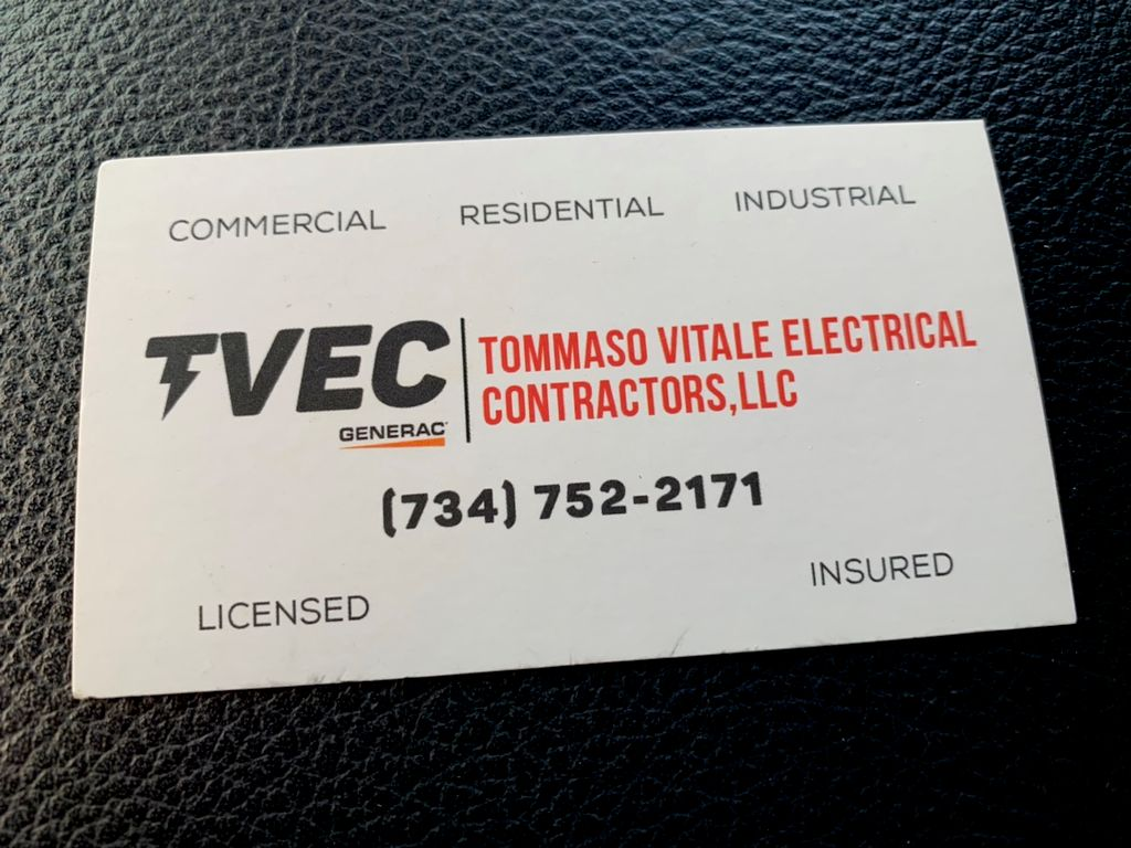 TOMMASO VITALE ELECTRICAL CONTRACTORS LLC