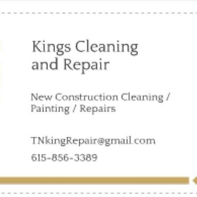 Avatar for Kings Cleaning & Repair Nashville, TN Thumbtack