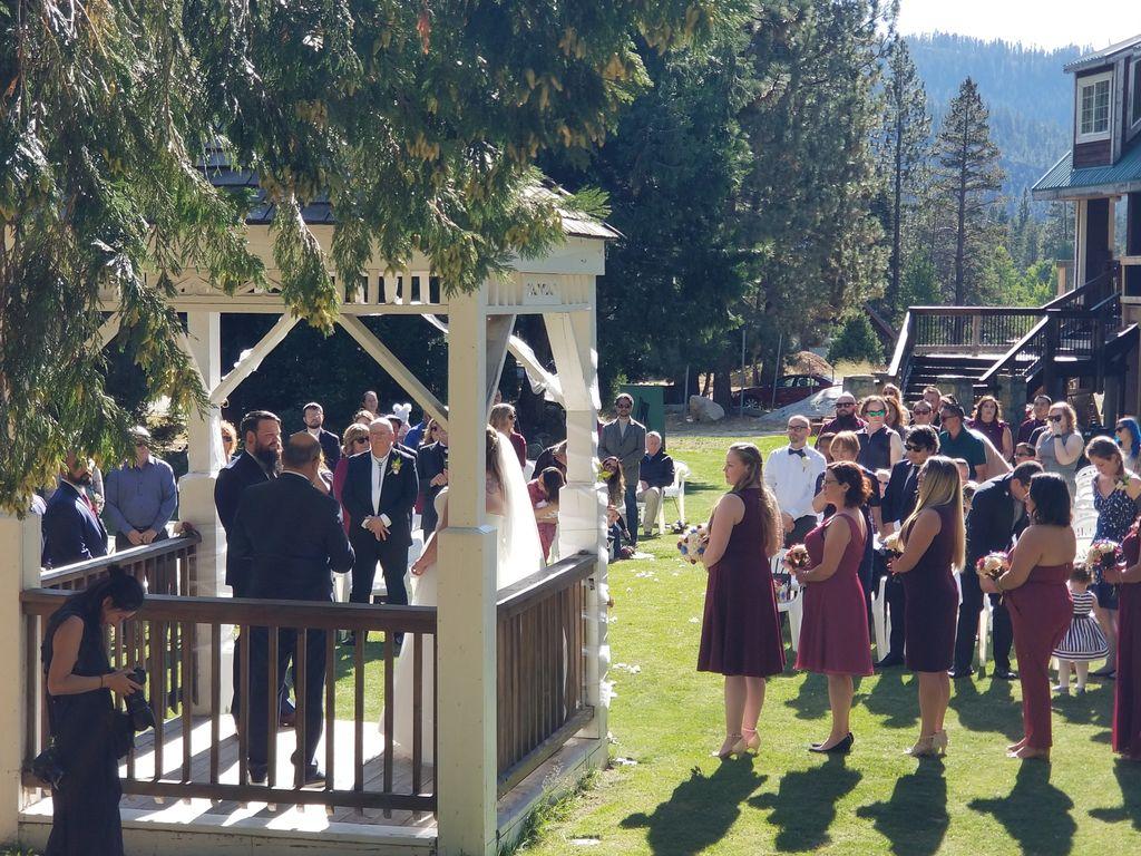 Strawberry Lodge Wedding