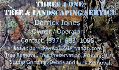 Avatar for Three 4 One Tree And Landscaping