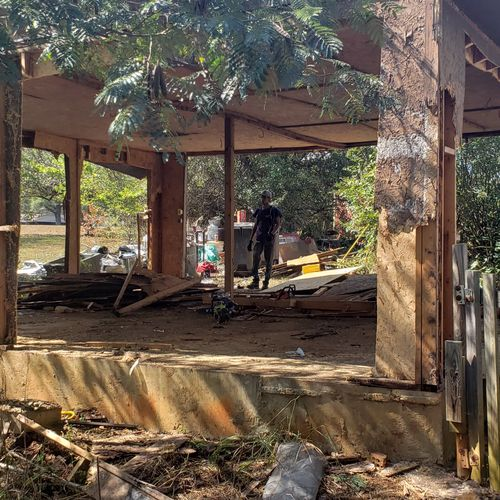 24 x 24 shed during