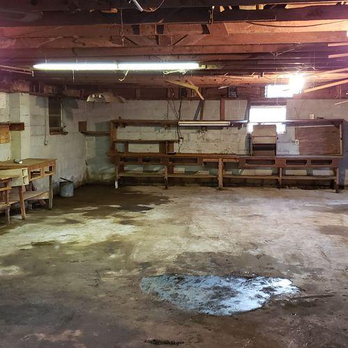 Hoarder workshop after