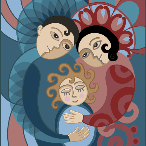 Digital illustrating.
