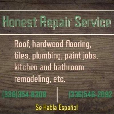 Avatar for Honest Repair Service Winston Salem, NC Thumbtack