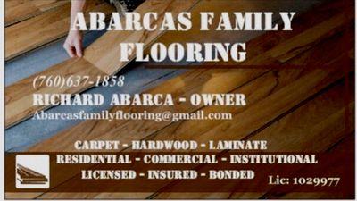 Avatar for Abarcas family flooring Menifee, CA Thumbtack