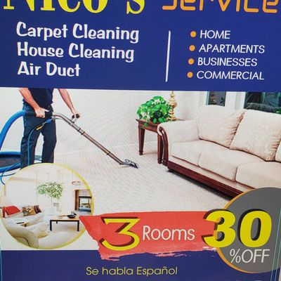 Avatar for Nico's Carpet cleaning Irving, TX Thumbtack