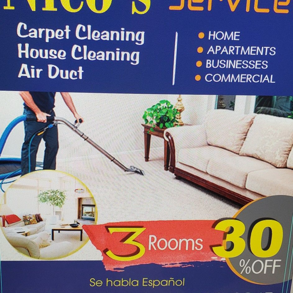 Nico's Carpet cleaning