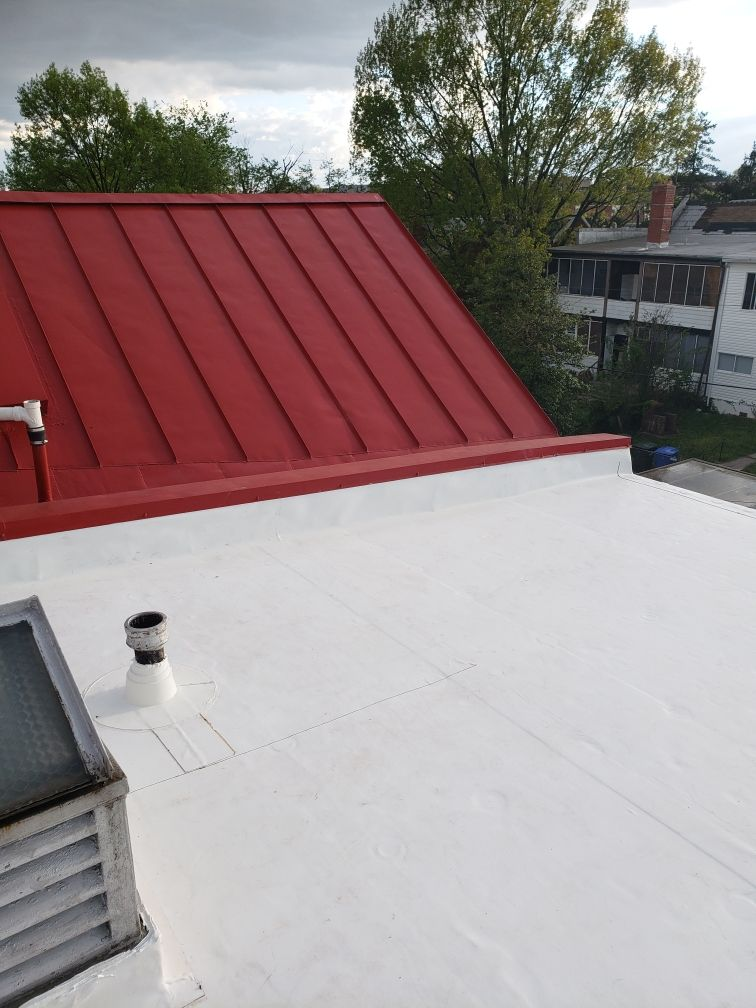 Flat and metal roofing