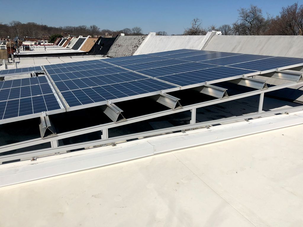 Full Roof Replacement with Solar Panels and Framing