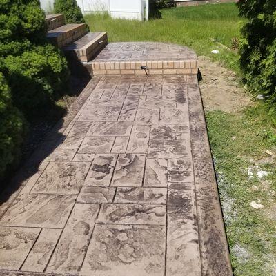 Avatar for RIVERA MASONRY LLC. block brick  stamped concrete